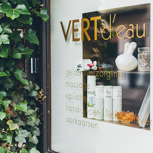 Vert d'eau Kortrijk: Beauty Care & Shop